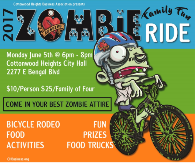 move utah, cottonwood heights zombie ride