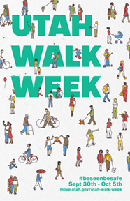 Utah Walk Week 2019 Poster - Thumbnail