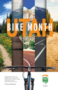 Poster for Bike Month May 2020
